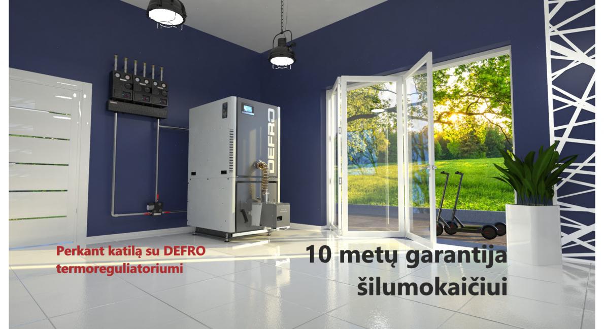 10 metu garantija