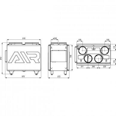 DEFRO DRX 500 V 5